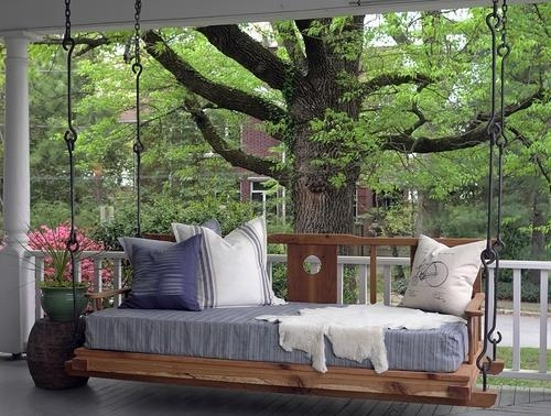 ... Bed Swings & Porch Swings Double Happiness Hanging Porch Bed for sale