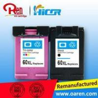 China Printer ink cartridge refill for hp60xl best selling in Amercia for Deskjet D2530 on sale