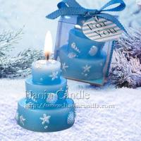 Quality Beach Themed Wedding Cake Candle Favors, Candle Supplier wholesale