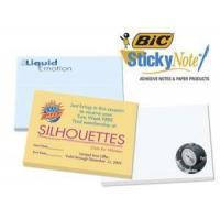 """Quality Imprinted/Personalized Items Bic 4""""x3"""" Adhesive Notepad wholesale"""