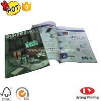 Quality Magazine Softcover magazine,brochure printing with glossy lamination wholesale