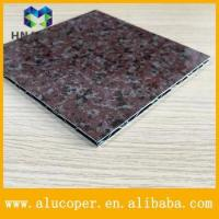 China building materials modern exterior marble aluminum composite wall panel cladding on sale