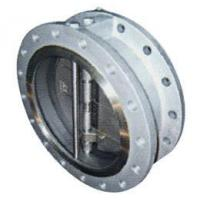 Buy cheap SwingCheckValveSile… Flanged double valve Swing Check Valve from wholesalers