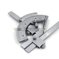 Quality Universal Bevel Protractor 320 degree Angular Dial Stainless steel angle Gauge #WSG-04008 wholesale