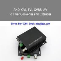 Quality 1-ch AV with 1-ch Reverse RS485 Data to fiber converter wholesale