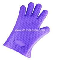 China BBQ Baking Smoke Oven Glove Silicone Extra on sale