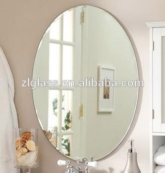 Cheap Super Quality Most Popular Bathroom Decorative 4mm Mirror Glass Of Zlangglass