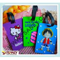China cute 3D cartoon kitty baggage tags for airlines on sale