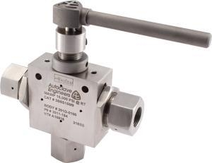 Cheap 3 Way High Pressure Ball Valve for sale