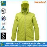 Quality men foldable custom nylon jacket wholesale