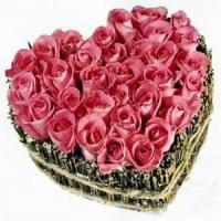 Quality Cupid Heart Of Roses NO.47 delivery flower to china wholesale