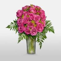 Quality Long Stem Roses NO.24 delivery flower to china wholesale
