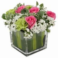 Quality Beautiful Roses With Vase NO.97 delivery flower to china wholesale