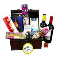 Quality China Christmas gift baskets send Christmas gift basket to China NO.55 wholesale