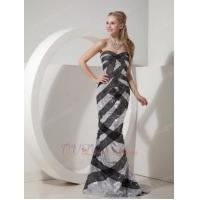 China Slim Mermaid Fit And Flare Sequin Fabric Evening Dress Cheap on sale