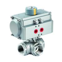 Quality pneumatic 3-way ball valve(threaded) wholesale