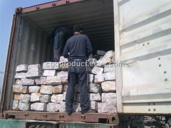 China Silica lining bricks Ball Mill Stone Lining 98% Sio2 Hardness 8 Mohs