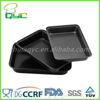 Quality non stick baking tray set Non-Stick Carbon Steel 3 Piece Baking Tray Sets wholesale