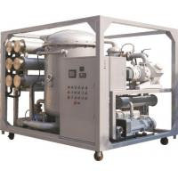China ZJA-T Ultra Efficient Two-stage Insulating Oil Vacuum Purifier on sale