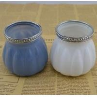 Buy cheap The color of Halloween Pumpkin Glass candle holder product