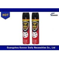 Quality OEM Chemical Formula Insecticide Spray 500ml Cockroach Fly Sprayer Rose Fragrance wholesale