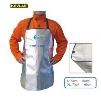 Quality BWP-6400-Super Aluminized Welding Apron W Super Strong Cowhide leather lined wholesale