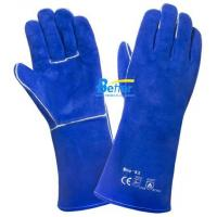 Buy cheap High Quality Blue Cow Split Leather Welder Gloves(BGCW204) product