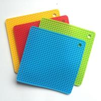 China honeycomb silicone hot pad on sale