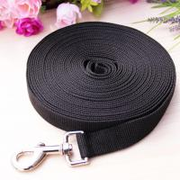 Buy cheap Adogo Dog Training Lead 33 feet long Padded handle in BlackView Detail from wholesalers