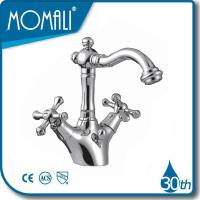 China Basin Faucets double handle kitchen faucets M54037-875C on sale