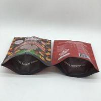 Quality 40mm Bottom Guest Pet Food Bag Stand Up Pouches Pressure Resisitance wholesale