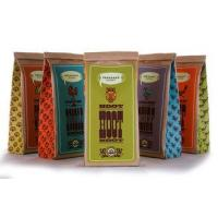 Quality Health Tin Tie Paper Bags With Window , Eco Friendly Stand Up Kraft Pouches wholesale