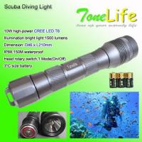 China Scuba Diving Torch/Light TL3208 on sale
