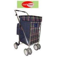 China Six-Wheel Shopping Cart, Collapsible on sale