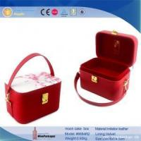 China top grade product display boxes red moon cake box on sale