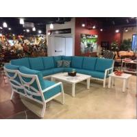 China Outdoor Patio Furniture Cast Aluminum Collection Sofa on sale
