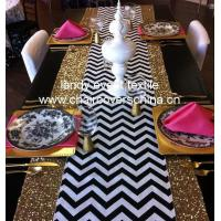 Quality X03Chevron table runner wholesale