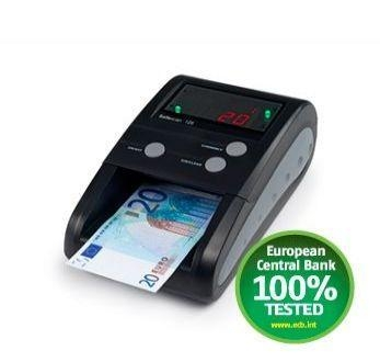 Cheap CD125 Black Counterfeit Detector For Euro and British Pound Counterfeit Detectors For Sale for sale