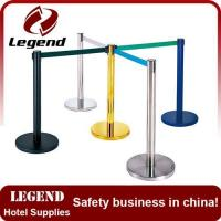 China New design maintain order retractable belt barrier on sale