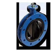 Quality Rubber Seat Flange Butterfly Valve wholesale