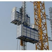 Quality SC100 CE Approved Single Cage Fixed Speed Construction Lift Manufacturer wholesale