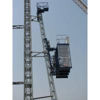 Buy cheap SCQ160 Variable Speed Customized Curved Construction Hoist from wholesalers