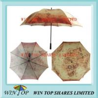 Quality 27 Inch Ancient Egypt Map Heat Transfer Umbrella wholesale