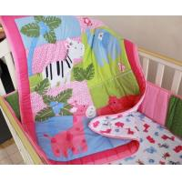 China Pink Animal Baby Girl Duvet Cross Stitching Style China Supplier on sale