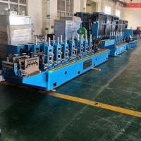 Quality High Precision Steel Tube Mill Pipe Making Machine Line wholesale