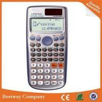 China Cheap Customized School Using 12 Digit 401 Functions Scientific Calculator on sale
