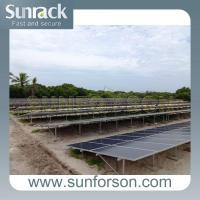 China Commercial Solar Panel Ground Mount Racking Systems on sale