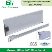Quality Wholesale JPA011 Furniture Drawer Slides Bottom Drawer Slides Side Mount Drawer Slides wholesale