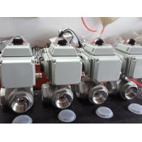 Quality Electric Three Way Ball Valve wholesale