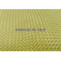 Buy cheap 350℃ Kevlar Fiber Knitted Fireproof Fiberglass Fabric High Intensity 0.2 - 2.0mm Thickness from wholesalers